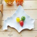 北の大地ランチプレート Hokkaido 北海道 白い食器洋食器陶器皿道民 おうち ごはん うつわ 陶器 美濃焼 日本製