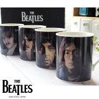 4個セット THE BEATLES ビートルズ 4人メンバーマグカップセット (ジョン ポール ジョージ リンゴ)