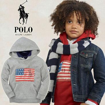 ◆最新モデルBOYS・男の子★サイズM(10-12)★大人も着れるサイズです^^大人気モデル・アメリカ国旗プリントパーカー入荷!! 定番グレーでどんなスタイルにも♪/GREY/プルオーバー