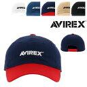 アヴィレックス キャップ サイズ調整可能 帽子 ローキャップ 14916700 AVIREX | メンズ レディース フリーサイズ[bef][即日発送]