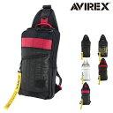 アヴィレックス ボディバッグ スーパーホーネット メンズ AVX-591 AVIREX | 撥水