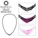 BANDEL バンデル クロス ネックレス 【 bandel cross necklace パワーバランス シリコ……
