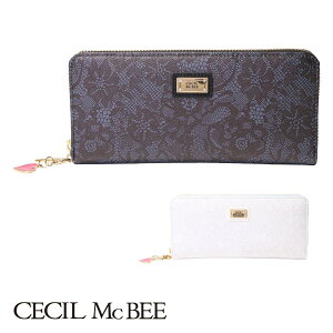 Cecil McBee Long Wallet Round Zipper Ladies Elena 66013 CECIL McBEE [bef] [PO5] [Same Day Shipping] [Mother's Day]