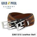 ゴールドファイル GOLDPFEIL ベルト GB51315 【 レザー メンズ 】【PO10】【bef】