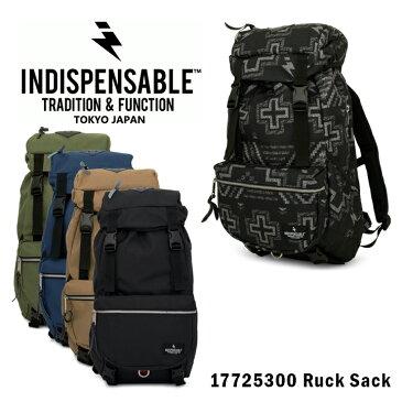 インディスペンサブル INDISPENSABLE リュック 17725300 【 デイパック バックパック リュックサック メンズ レディース 】