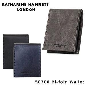 キャサリン ハムネット 二つ折財布 490-51905
