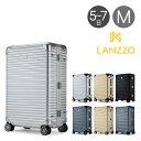 ランツォ スーツケース ノーマン 27インチ|64L 64cm 6.3kg|アルミニウム合金 5年保証 アルミ ハード フレーム TSAロック搭載 キャリーケース LANZZO [bef]