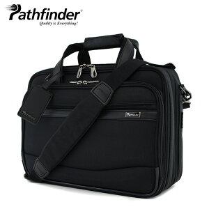 """パスファインダーブリーフケースブラックメンズPF3803B【Pathfinder16""""DoubleBusinessBrief】【多機能ビジネスバッグショルダーバッグ2way】【smtb-k】【w2】"""