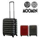 ムーミン スーツケース 36L 47cm 3kg ハード ファスナー レディース MM2-015 MOOMIN | キャリーケース TSAロック搭載 拡張[即日発送]