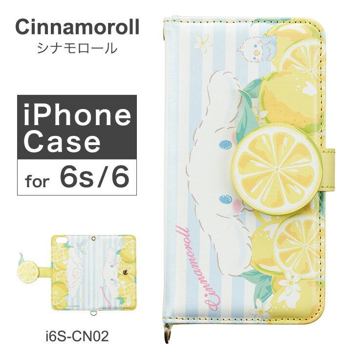 スマートフォン・携帯電話用アクセサリー, ケース・カバー  Cinnamoroll iPhone6 i6S-CN02 PO10bef