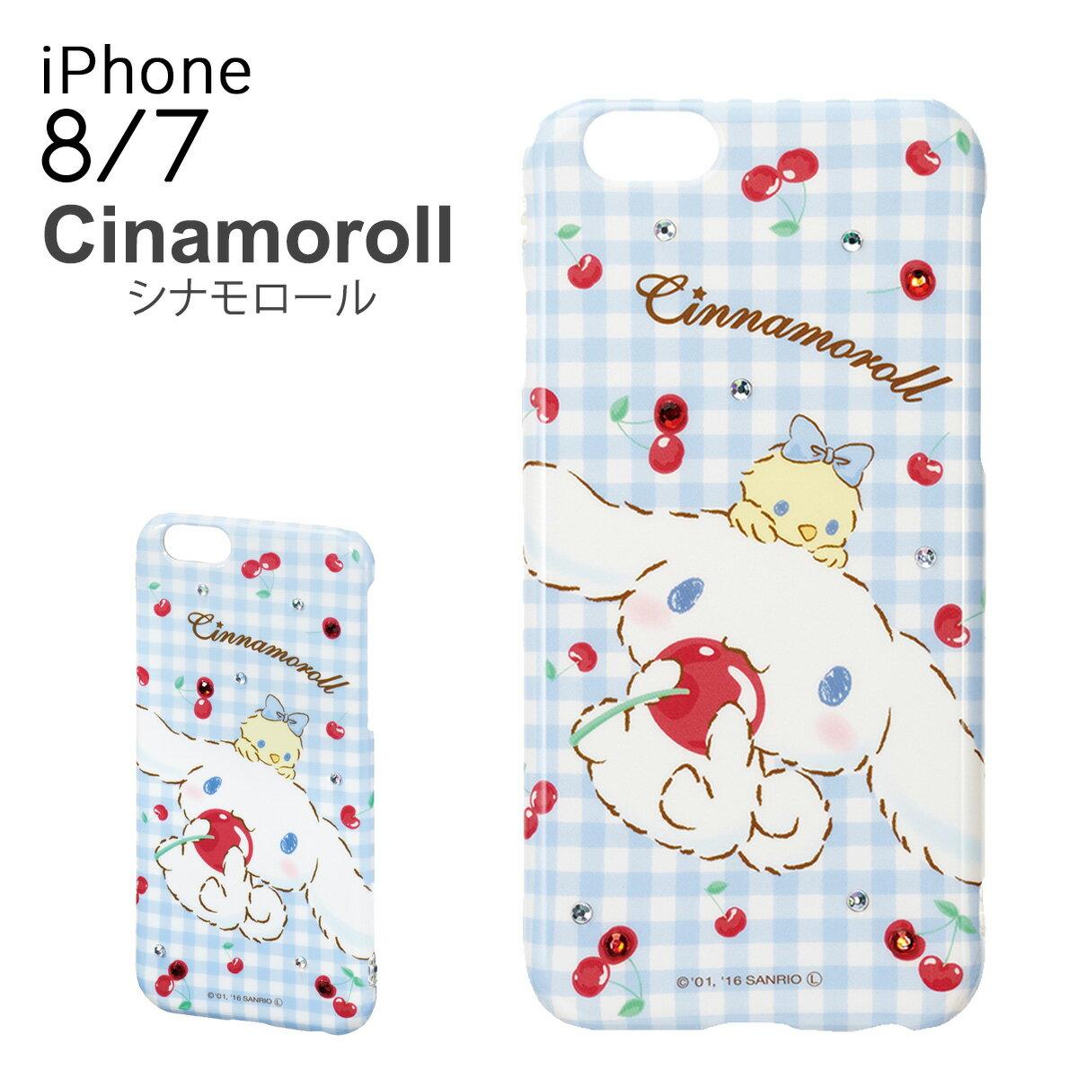 スマートフォン・携帯電話用アクセサリー, ケース・カバー  Cinnamoroll iPhone8 iPhone7 iP7-SA04C PO10bef