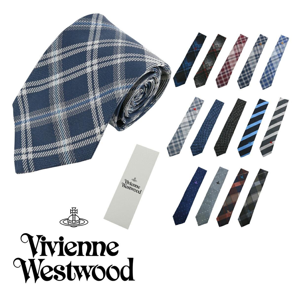 【 ヴィヴィアンウエストウッド Vivienne Westwood 】 ネクタイ ブランド メンズ