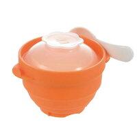 リッチェル Richell 離乳食シリコーンスチーマーラッピング対応 1台2役の調理グッズ。おかゆもおかずもレンジで簡単。