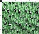 輸入生地 パンダ 動物柄 ハンドメイド素材 生地 布 布地