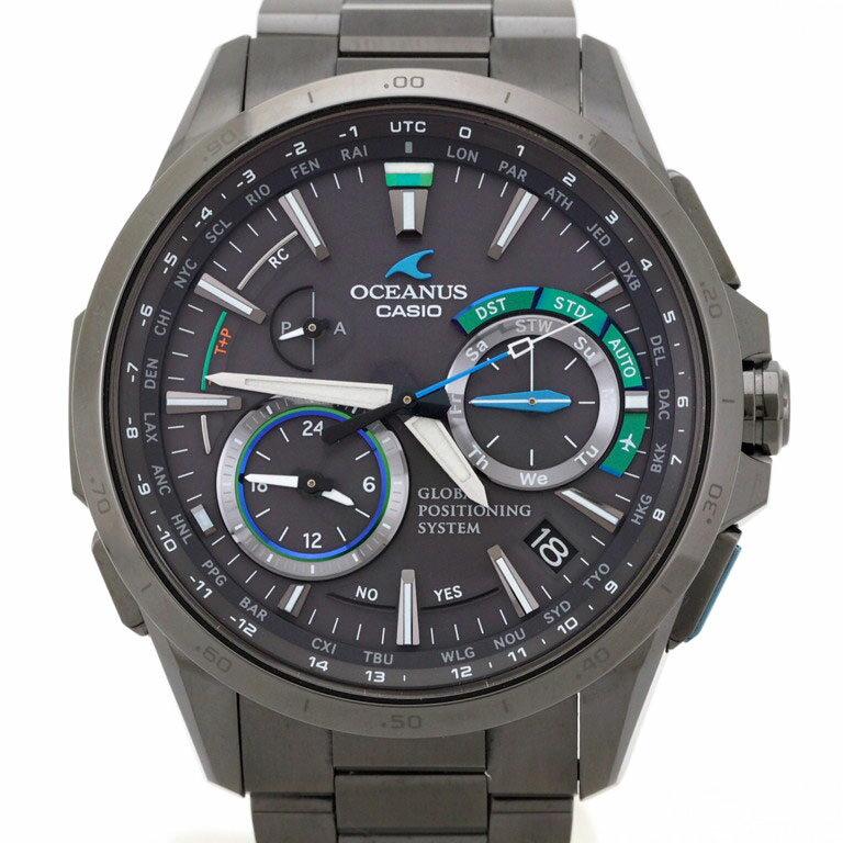腕時計, メンズ腕時計  CASIO OCW-G1000B-1A3JF GPS