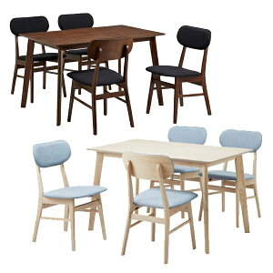 ダイニングテーブルセット ダイニングセット ダイニングテーブル 5点セット 4人掛け 長方形 120x75 コンパクト シンプル ナチュラル モダン シンプル 北欧 ホワイトウォッシュ 木製 楽天 通販