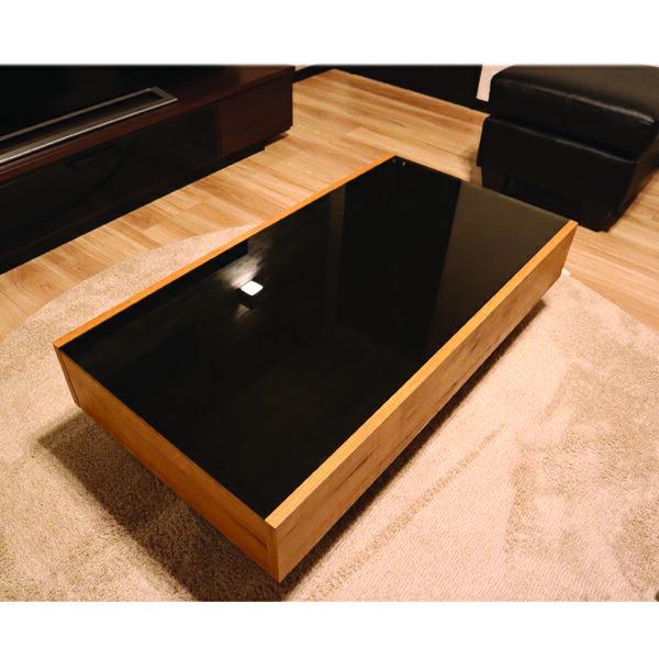 テーブル ガラステーブル センターテーブル リビングテーブル ローテーブル ちゃぶ台 座卓 幅105cm 長方形 引き出し付き 収納付き 北欧 モダン おしゃれ ヴィンテージ調 木製 送料無料