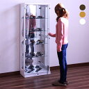 数量限定 コレクションボード コレクションケース キュリオケース ガラスケース 幅62cm 高さ160cm リビ...