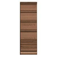 チェストハイチェスリビングチェスト幅40cm405段スリム隙間リビング収納引き出しシンプル北欧モダンおしゃれナチュラル木製完成品楽天通販送料無料