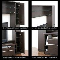 数量限定テレビ台テレビボードTV台TVボードハイタイプ幅190cm高さ180cm壁面収納家具LEDダウンライト付きシンプル北欧モダン3色対応木製送料無料