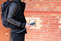 チェーンストラップ【Ricky's】携帯ストラップスマホストラップギフトiPhone8iPhone7plusXperiaGALAXYスマホストラップ栃木レザーレザー本革革デジカメカメラストラップバッグウォレットチェーンフックリッキーズr207