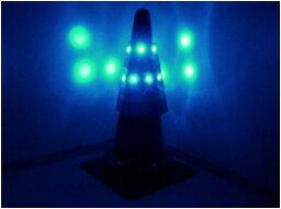 《三ツ星貿易》青色LEDコーンカバー