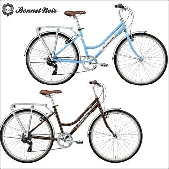 ボネノワールクロスバイクALIZETR2【26inch】【女性用】【外装変速】【街乗り】【自転車】【BONNETNOIR】