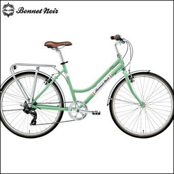 【2/1510:00より開始!スマホエントリーでポイント10倍!】ボネノワールクロスバイクALIZETR2【26inch】【女性用】【外装変速】【街乗り】【自転車】【BONNETNOIR】