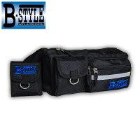 B-STYLEBS-04-BKライダーズウエストバッグ