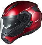 OGKカブトRYUKIヘルメット【シャイニーレッド】【オージーケーカブトバイク用システムヘルメットリュウキ】【smtb-k】