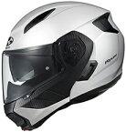 OGKカブトRYUKIヘルメット【ホワイトメタリック】【オージーケーカブトバイク用システムヘルメットリュウキ】【smtb-k】