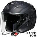SHOEI J-Cruise ヘルメット PASSE 【TC-5 ブラック×シルバー (マットカラー)】【ショウエイ バイク用 ジェットヘルメット ショーエイ Jクルーズ パッセ】【smtb-k】