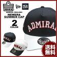 アドミラル ニューエラー Admiral SNAP BACK NEWERA SUMMER CAP 帽子 キャップ メンズ レディース ホワイト 白 ネイビー