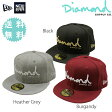 Diamond SUPPLY CO. / NEW ERA 59FIFTY OG SCRIPT FITTED CAP 【ダイヤモンドサプライ×ニューエラー キャップ 帽子】