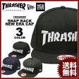 送料無料 スラッシャー THRASHER ニューエラー キャップ 帽子 スナップバック ブラック 黒 インデイゴデニム ブラックレパード メンズ MAG NEW ERA 9FIFTY SNAP BACK CAP