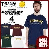 スラッシャー THRASHER Tシャツ 半袖 ネイビー 紺 ホワイト 白 マルーン ワイン グリーン 緑 メンズ ジャクソンマティス JACKSON MATISSE T-SHIRTS コラボTシャツ