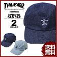 スラッシャー THRASHER GONZ ART DENIM SPORTS CAP Dad HAT キャップ 帽子 デニム インディゴ ブルー カーブキャップ ローキャップ メンズ レディース