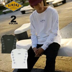 【公式】アーモンド サーフボードデザイン Tシャツ Almond Surfboards & Design DIAMOND LOGO USA COTTON L/S T-SHIRTS 長袖Tシャツ ロンティ TEE 全2色 アメリカ綿 S-L メンズ