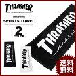 スラッシャー THRASHER スポーツタオル MAG LOGO SPORTS TOWEL ブラック 黒 ホワイト 白 今治タオル メンズ レディース