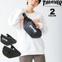 【公式】 スラッシャー ウエストバッグ THRASHER PVC TARPAULIN WAIST BAG ウエストポーチ ショルダーバッ...