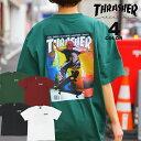 【公式】 スラッシャー Tシャツ THRASHER JAN 98 S/S T-SHIRTS プリントTEE PUSHEAD パスヘッド メンズ レ...