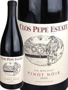 クロ・ペペ・エステイト ピノ・ノワール サンタ・リタ・ヒルズ [2005]Clos Pepe Estate Pino...