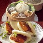 セイロ飲茶と豚角煮パオズ中華セット