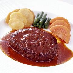 飼料に梅を加えた柔らかい肉質の 大阪ウメビーフ煮込みハンバーグ【リーガロイヤルホテル】