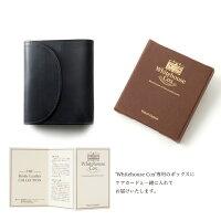 【正規品】ホワイトハウスコックスミニ3つ折り財布S1058/SMALL3FOLDWALLETブライドルレザー/ブラック【WhitehouseCox/ホワイトハウスコックス】
