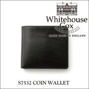 ホワイトハウス コックス コインケース ブライドルレザー ブラック Whitehouse