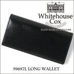 【正規品】ホワイトハウスコックス 2つ折り長財布 S9697L/LONG WALLETブライドルレザー/ブラック【Whitehouse Cox/ホワイトハウスコックス】【あす楽対応_関東】