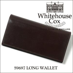 ホワイトハウス コックス ロングウォレット ブライドルレザー ブラウン Whitehouse