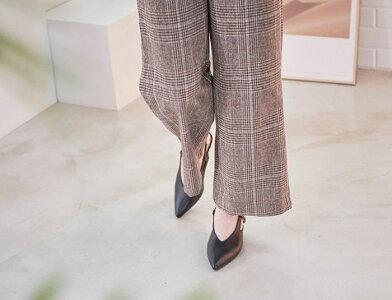 パンプス ローヒール ポインテッドトゥ バックストラップ 歩きやすい フォーマルパンプス 黒 ワイン ベージュ 通勤 ビジネス 入学式 卒業式