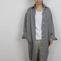 NARUナル65003オールドコットムラ糸リサイクル天竺10分袖カットソー